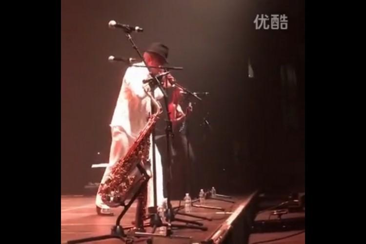 Youku - Fred Aucagos - Dad's France Music Tour Concert Zenith Paris
